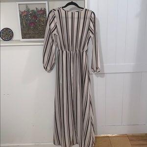Windsor Pants - Striped romper/jumpsuit